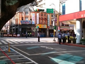 Taiwan National Day - police everywhere