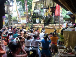 Ubud - Balinese ceremony