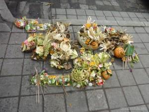 Ubud - Balinese offerings