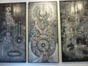 Ubud - contemporary Balinese art 1