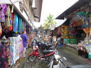 Ubud - market view