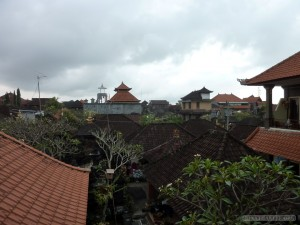 Ubud - view from guesthouse