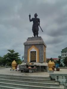 Vientiane - Fa Ngum Statue