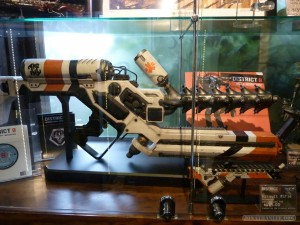 WETA Cave - District 9 Guns
