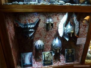 WETA Cave - LOTR helms