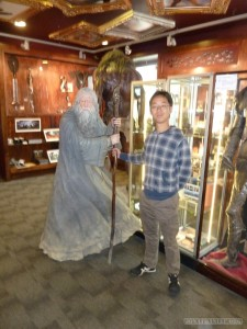WETA Cave - portrait with wizard