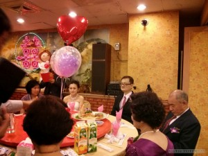 Wedding - banquet couple