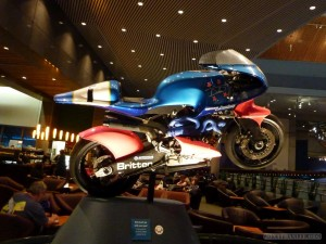 Wellington - Te Papa Museum DIY motorcycle