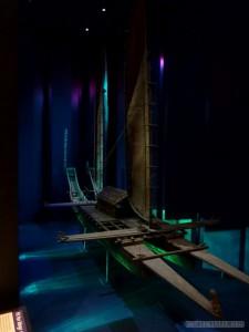 Wellington - Te Papa Museum Mauri boat 1