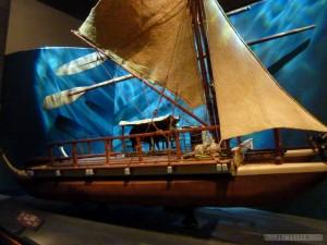 Wellington - Te Papa Museum Mauri boat 2