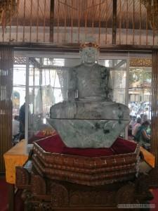 Yangon - Shwedagon pagoda jade buddha