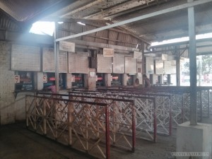 Yangon - central railway inside