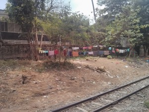 Yangon - circular train view 12