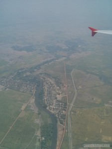 Yangon - from the air