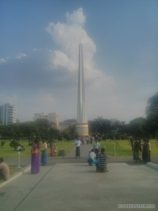 Yangon - independence monument