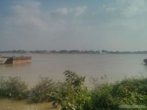Yangon - river view