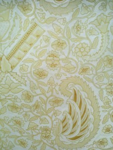 Yogyakarta arts culture - Batik drawn pattern 2