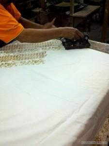 Yogyakarta arts culture - Batik manual printing 1