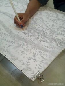 Yogyakarta arts culture - Batik pattern drawing
