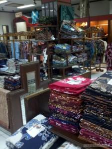 Yogyakarta arts culture - Batik store
