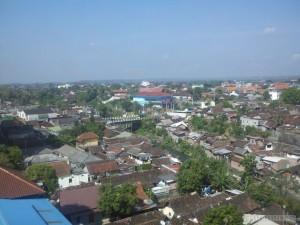 Yogyakarta - city view