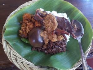 Yogyakarta - nasi gudeg 1